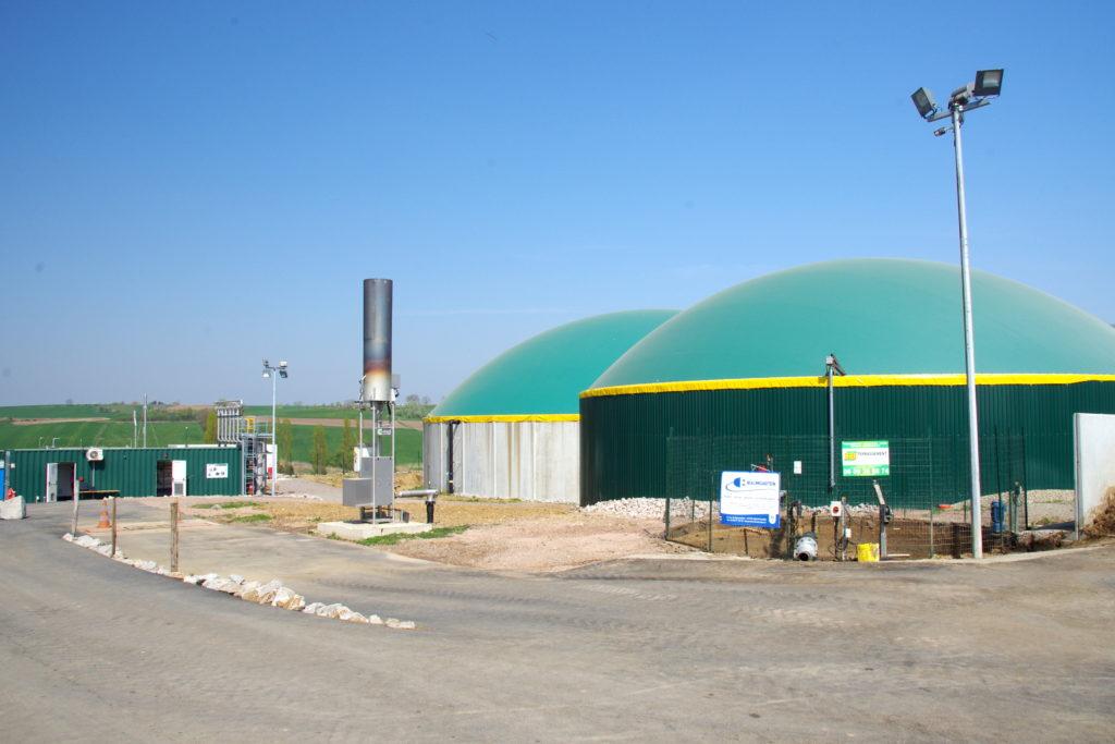 Unités de méthanisation produisant le gaz vert
