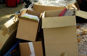 Pas besoin d'acheter des cartons neufs pour votre déménagement.